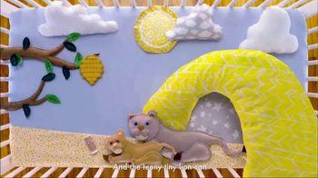 SheaMoisture Baby TV Spot, 'Teeny Tiny Lion' - Thumbnail 9
