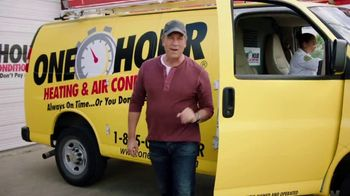 One Hour Heating & Air Conditioning TV Spot, 'Five Minutes' Feat. Mike Rowe