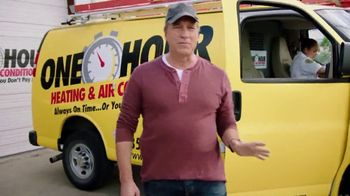 One Hour Heating & Air Conditioning TV Spot, 'Five Minutes' Feat. Mike Rowe - Thumbnail 2