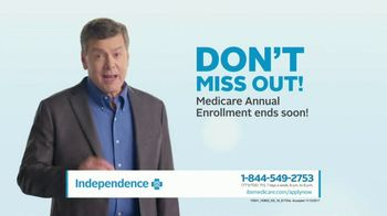 Independence Blue Cross Medicare Advantage Plan TV Spot, 'Don't Miss Out'