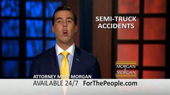 Morgan and Morgan Law Firm TV Spot, 'Semi-Truck Accidents' - Thumbnail 2