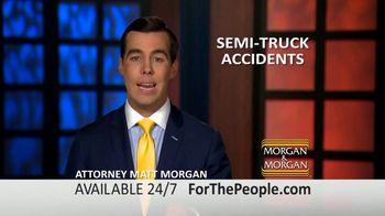 Morgan and Morgan Law Firm TV Spot, 'Semi-Truck Accidents' - Thumbnail 4