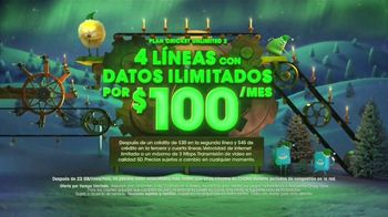 Cricket Wireless Unlimited 2 Plan TV Spot, 'Más líneas' [Spanish] - Thumbnail 4