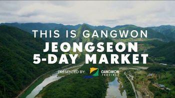 Gangwon Tourism TV Spot, 'Jeongseon Five-Day Market' Feat. Daniel Henney