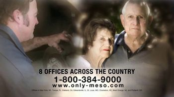 MRHFM Law Firm TV Spot, 'Only Meso'