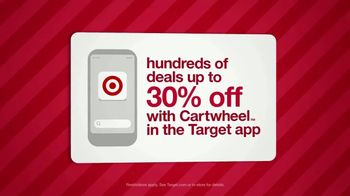 Target Weekend Deals TV Spot, 'Holiday: Target App' - Thumbnail 2