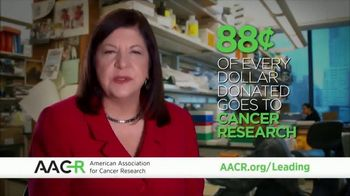 AACR TV Spot, 'Leading Discoveries. Targeting Cures. Saving Lives.'
