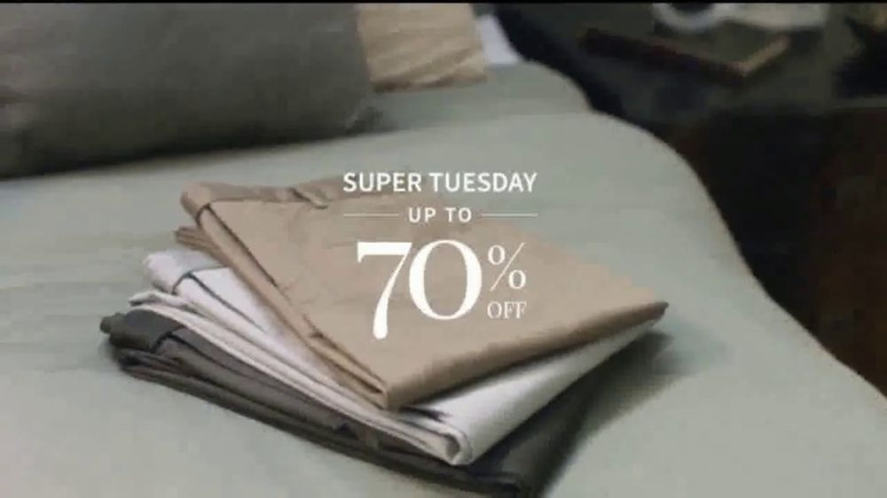 JoS. A. Bank Super Tuesday Sale TV Commercial, 'Suits and Wool Topcoats'