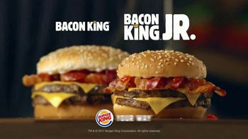 Burger King Bacon King Jr. TV Spot, 'Packs the Big Taste'
