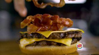 Burger King Bacon King Jr. TV Spot, 'Packs the Big Taste' - Thumbnail 6