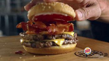 Burger King Bacon King Jr. TV Spot, 'Packs the Big Taste' - Thumbnail 7