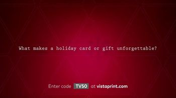 Vistaprint TV Spot, 'Holidays: Unforgettable' Song by Lloyd Prince - Thumbnail 2