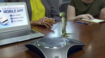 GEICO App TV Spot, 'Gecko Conference Call'