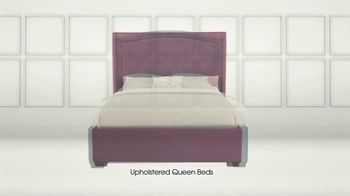 Rooms to Go TV Spot, 'Upholstered Queen Beds'
