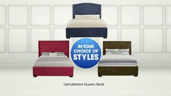 Rooms to Go TV Spot, 'Upholstered Queen Beds' - Thumbnail 6