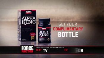 Force Factor Alpha King TV Spot, 'Now That I'm Getting Older' Ft Bo Jackson - Thumbnail 5