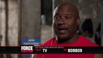 Force Factor Alpha King TV Spot, 'Now That I'm Getting Older' Ft Bo Jackson - Thumbnail 8