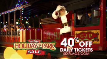 Six Flags Holiday in the Park Sale TV Spot, 'Online Only' - 1 commercial airings