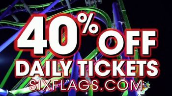 Six Flags Holiday in the Park Sale TV Spot, 'Online Only' - Thumbnail 5