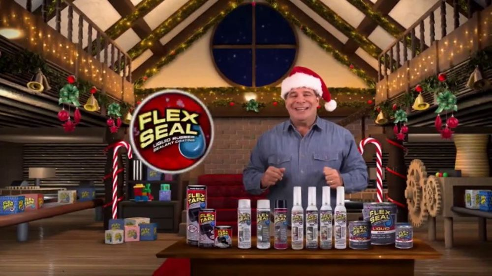 Flex Seal Christmas Commercial 2020 Flex Seal TV Commercial, 'Family of Products Holiday'   iSpot.tv