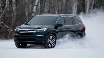 2017 Honda Pilot TV Spot, 'Comfortable in Baudette'
