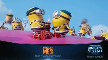 DIRECTV Cinema TV Spot, 'Despicable Me 3'