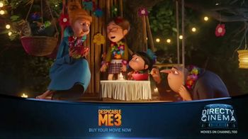 DIRECTV Cinema TV Spot, 'Despicable Me 3' - Thumbnail 1