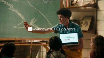 Windows 10 TV Spot, 'Katherine Brings Her Stories to Life' - Thumbnail 9