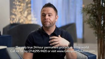 G4 Implant Solution TV Spot, 'Restaurant Embarrassment'