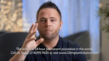 G4 Implant Solution TV Spot, 'Restaurant Embarrassment' - Thumbnail 5
