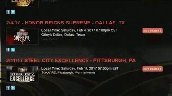 ROH Wrestling TV Spot, 'On Demand and DVD' - Thumbnail 3