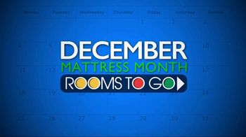 Rooms to Go Mattress Month TV Spot, 'King for a Queen Price' - Thumbnail 2