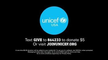 UNICEF TV Spot, 'Every Child Deserves a Childhood' - Thumbnail 10