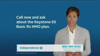 Independence Blue Cross Keystone 65 Basic Plan Rx HMO Plan TV Spot, 'Call' - Thumbnail 8