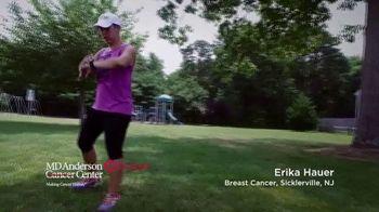 MD Anderson Cancer Center TV Spot, 'Erika' - Thumbnail 1