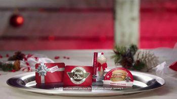Steak 'n Shake TV Spot, 'Holiday Gift Cards' - Thumbnail 4