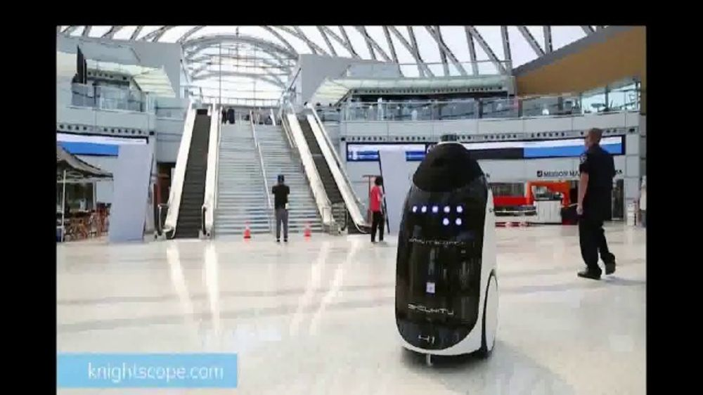 Knightscope TV Commercial, 'The Future Is Here. Autonomous Security Robots.'
