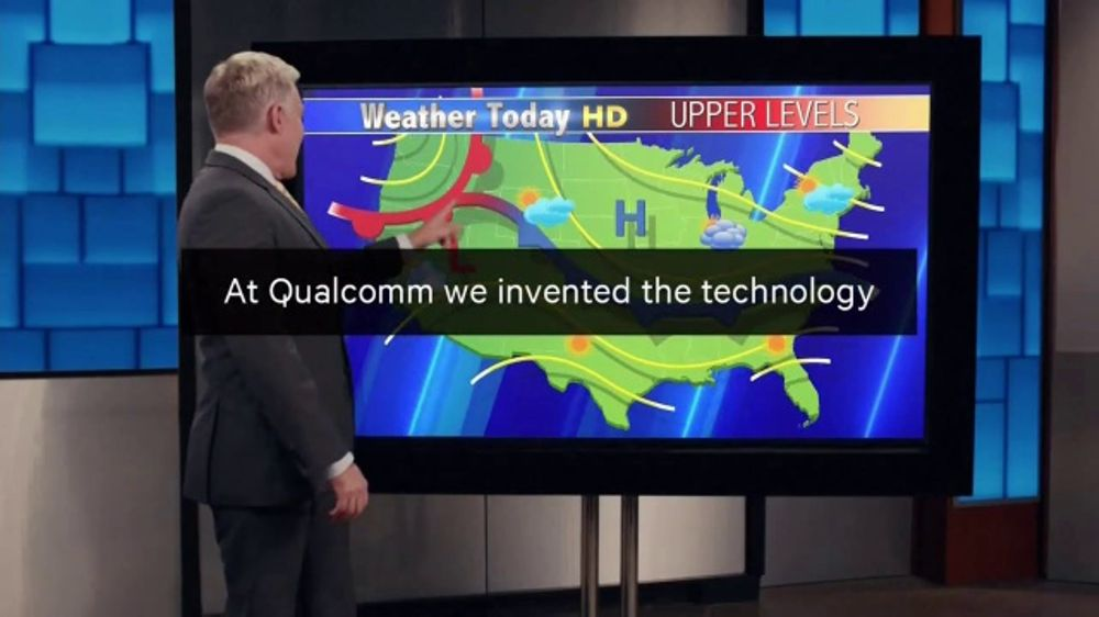 Qualcomm TV Commercial, 'Weather Report'