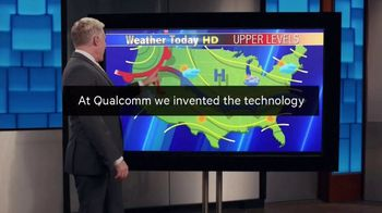 Qualcomm TV Spot, 'Weather Report' - 4 commercial airings