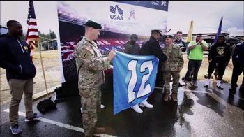 USAA TV Spot, 'Salute to Service: Seattle Seahawks' - 1 commercial airings