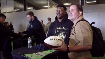 USAA TV Spot, 'Salute to Service: Seattle Seahawks' - Thumbnail 7