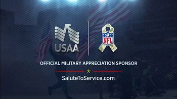 USAA TV Spot, 'Salute to Service: My Cause, My Cleats' Featuring Drew Brees - Thumbnail 9