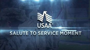 USAA TV Spot, 'Salute to Service: My Cause, My Cleats' Featuring Drew Brees - Thumbnail 1