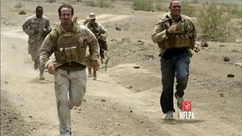 USAA TV Spot, 'Salute to Service: My Cause, My Cleats' Featuring Drew Brees - Thumbnail 5
