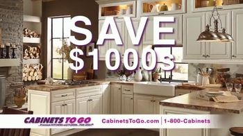 Cabinets To Go Year End Sale TV Spot, 'December is Here' - Thumbnail 3
