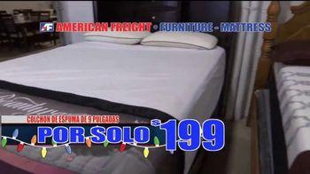 American Freight Gran Venta de Etiqueta Roja TV Spot, 'Recamaras' [Spanish] - Thumbnail 3