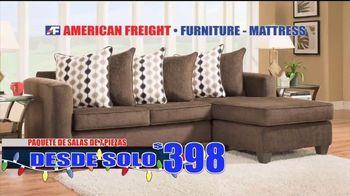 American Freight Gran Venta de Etiqueta Roja TV Spot, 'Recamaras' [Spanish] - Thumbnail 4