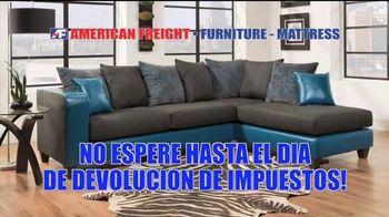 American Freight Gran Venta de Etiqueta Roja TV Spot, 'Recamaras' [Spanish] - Thumbnail 5