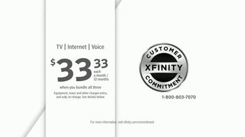 XFINITY TV, Internet & Voice TV Spot, 'A Price That Fits Your Budget' - Thumbnail 8