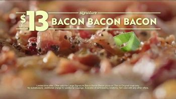Papa Murphy's Signature Bacon Bacon Bacon Pizza TV Spot, 'Law of Un-Baked'